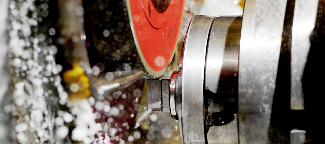 GRINDING: the grinding department includes surface, cylindrical external and internal machines.